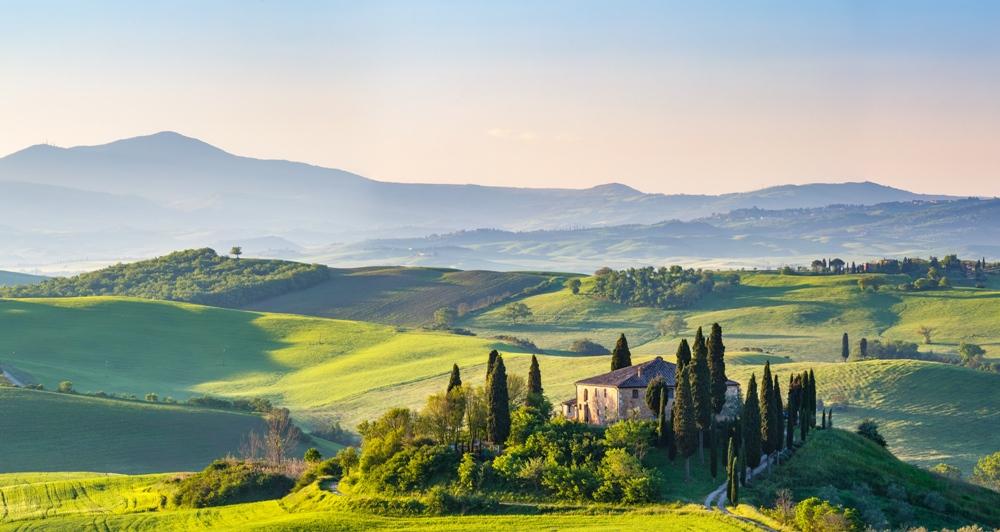 Castle Porrona – Tuscany, Italy