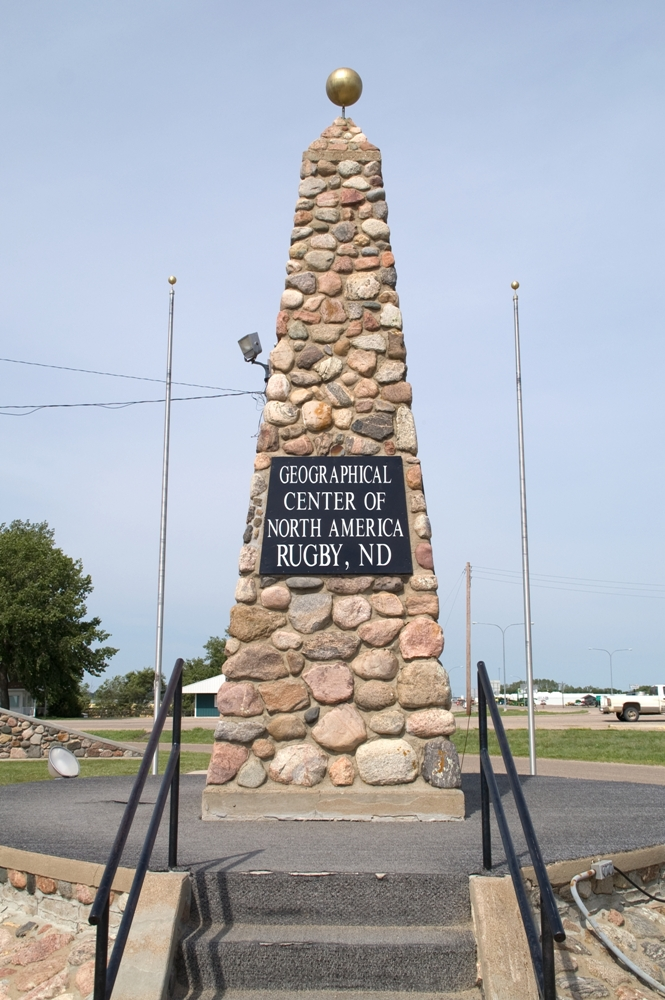 North American Geographical Center – Rugby (or Robinson?), North Dakota
