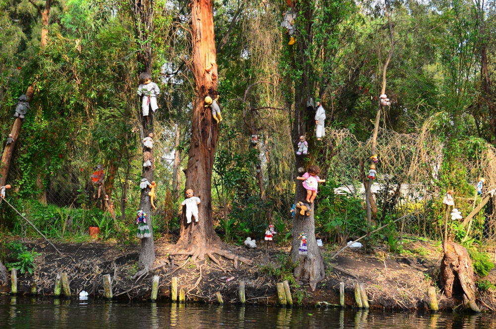 The Island of the Dolls – Canals of Xochimico, Mexico City, Mexico
