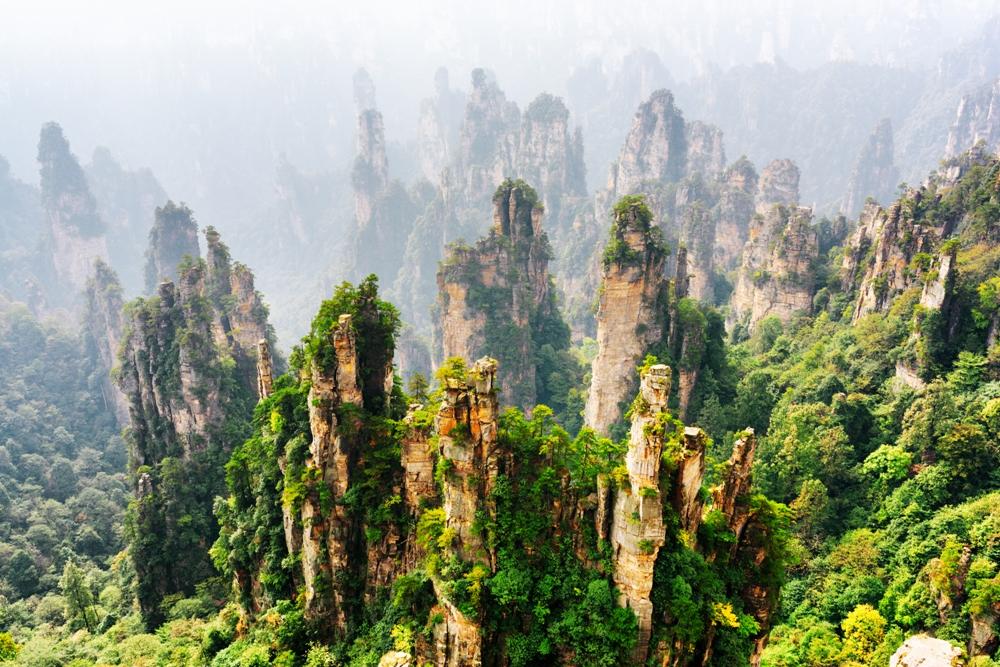 Tianzi Mountain – Shentang Valley, China