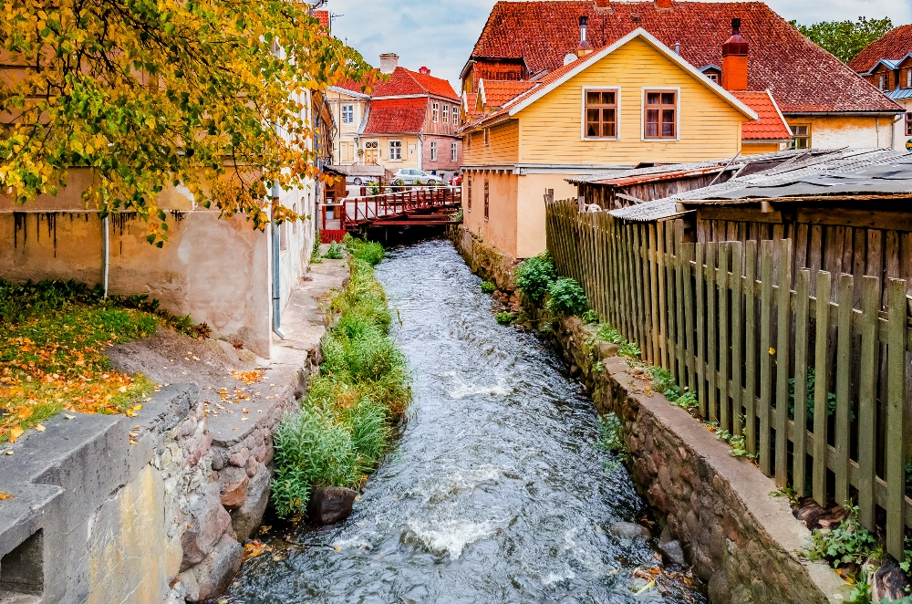 Experience the Old World in Kuldiga, Latvia