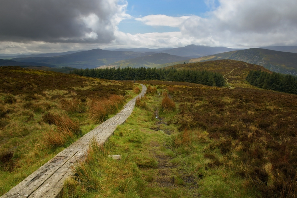 Hiking the Wicklow Way – Ireland