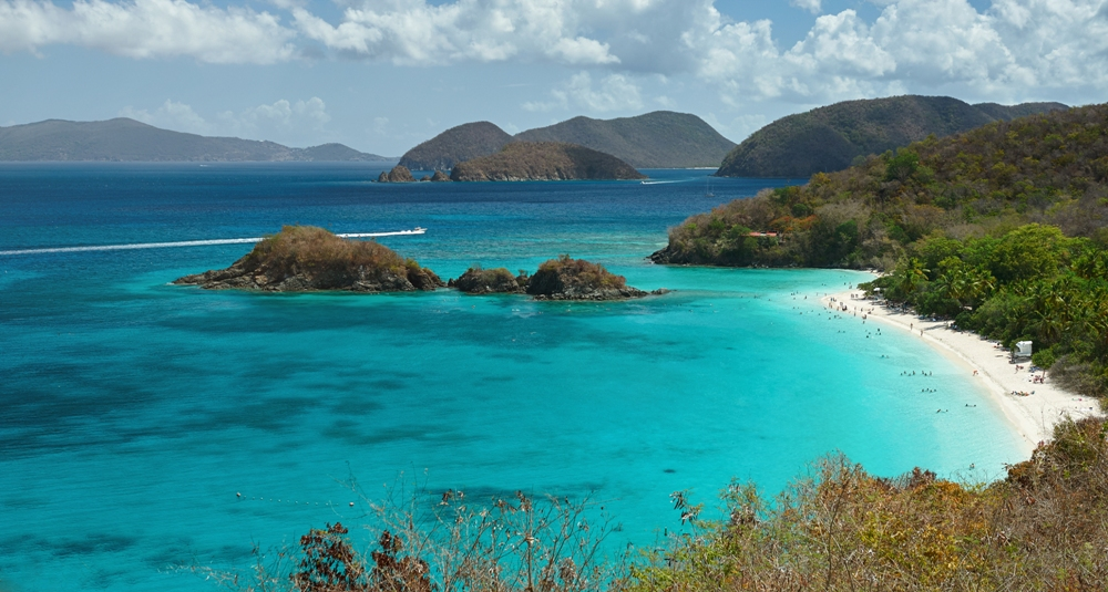The Island of St Thomas, Virgin Islands