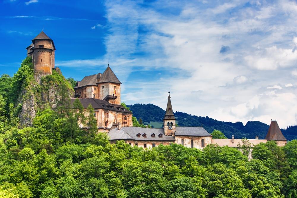 Orava Castle of Slovakia