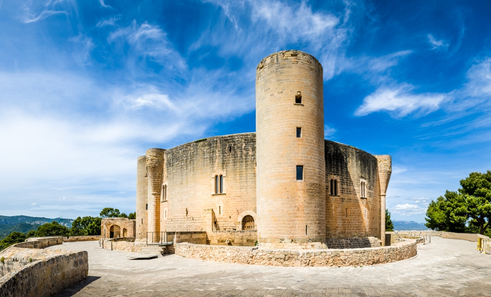 The History of Bellver Castle in Mallorca, Spain