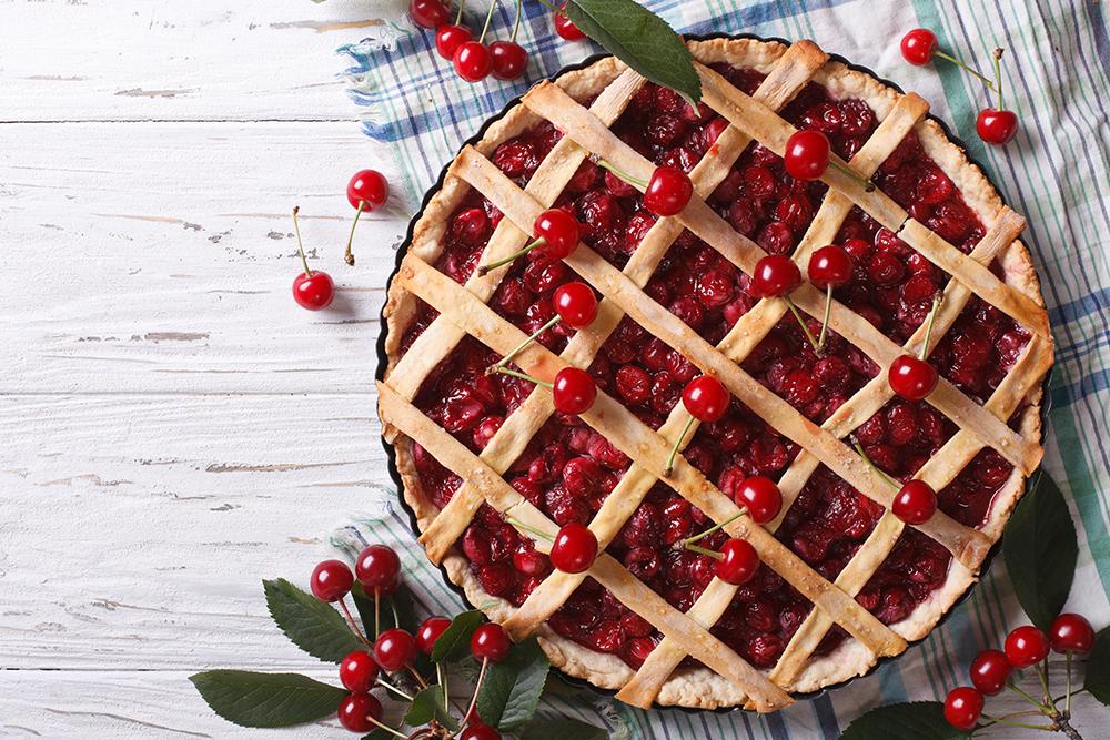 Worlds Largest Cherry Pie